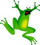 frog surprise