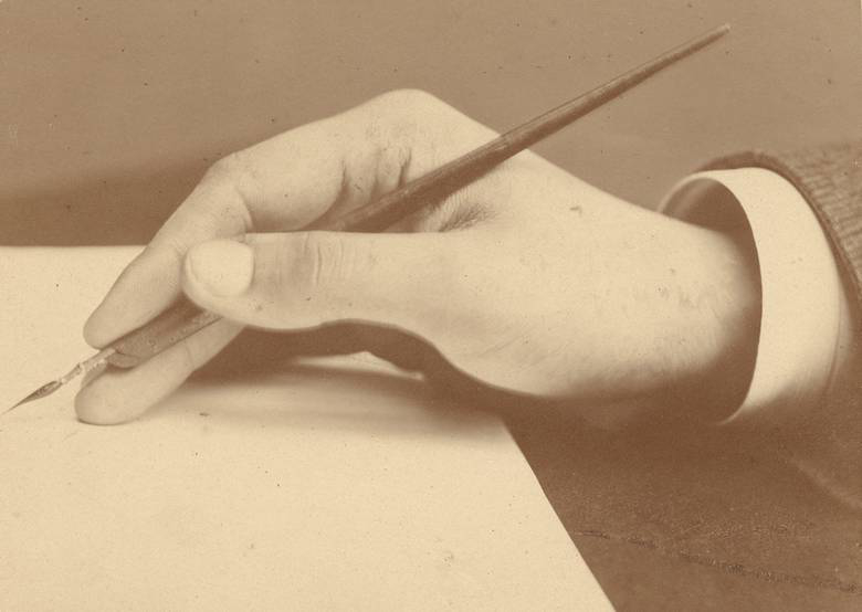 mach writing Josef_Löwy_Handstudie_vor1872