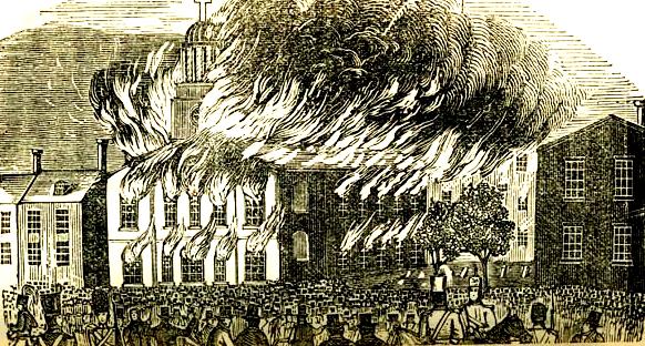 naaativist riots Riots1844staugestine 2.jpg