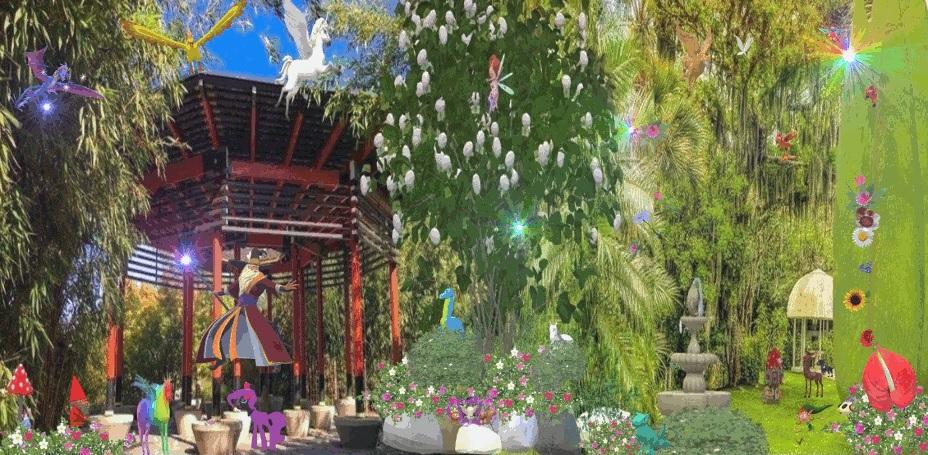 shaka garden wizard